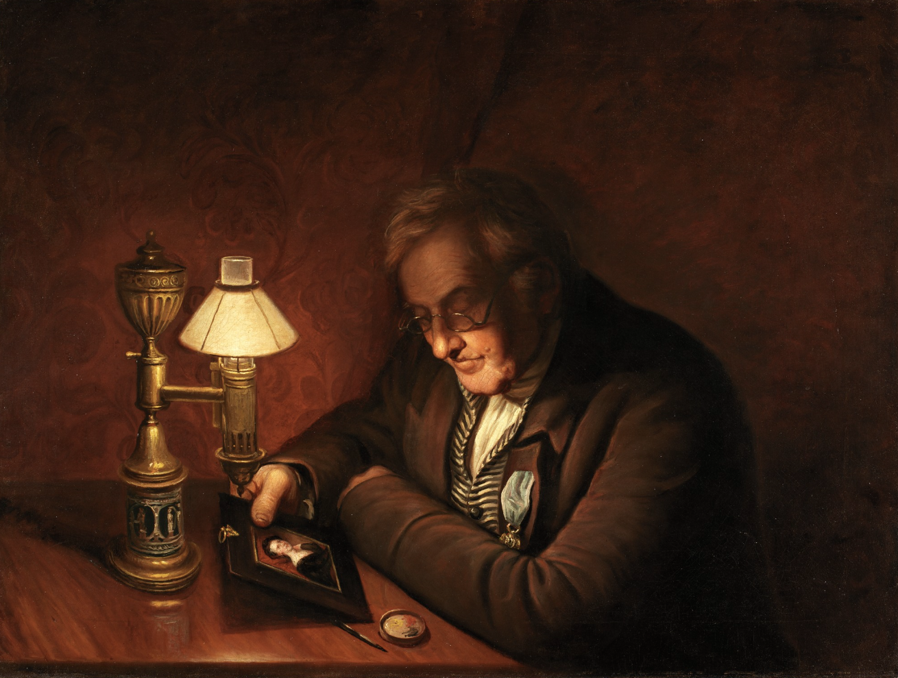 Antoine Quinquet et le quinquet à l'huile
