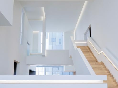 Rampe d'escalier illuminé au LED