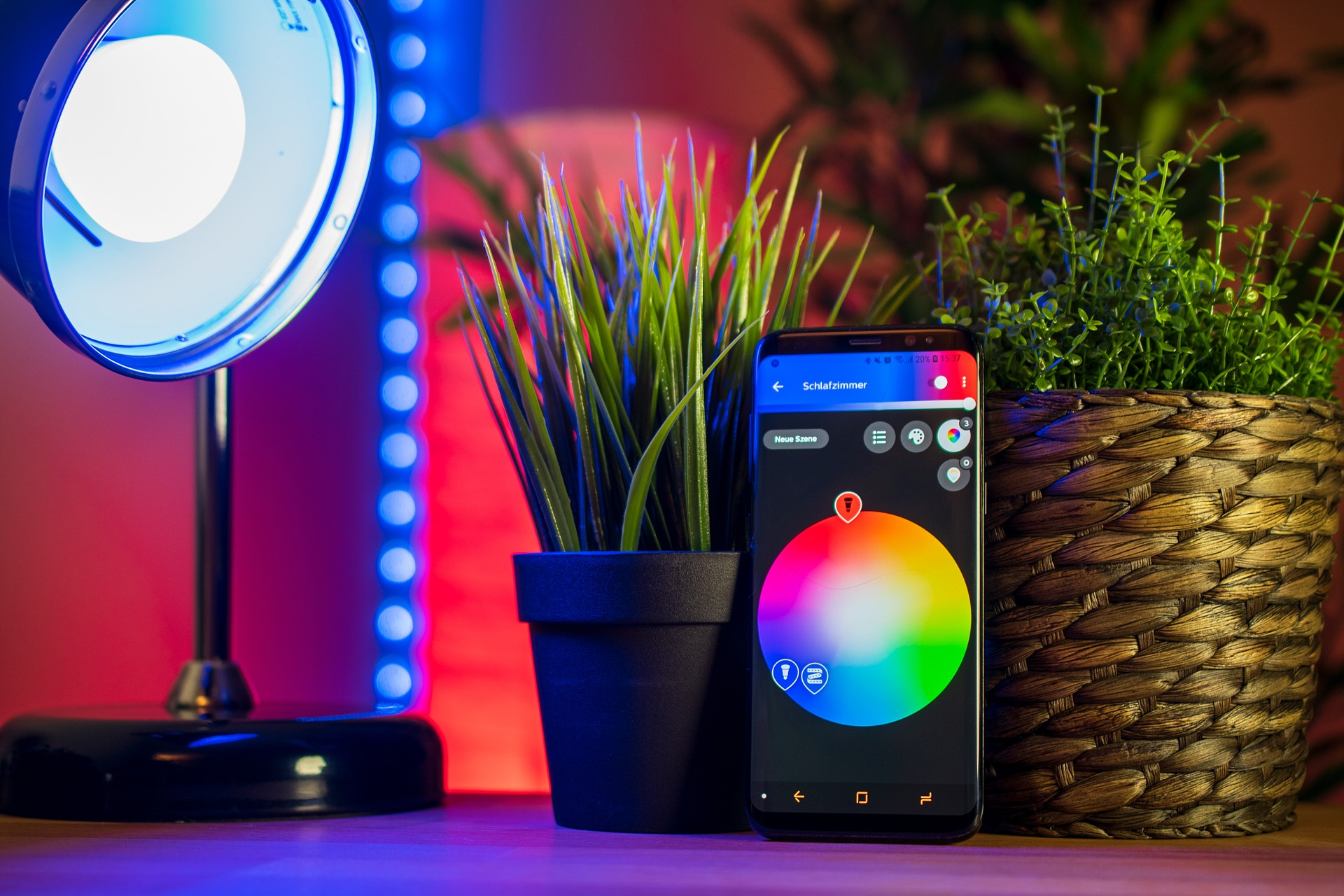 Smart lighting RGB LED Strip